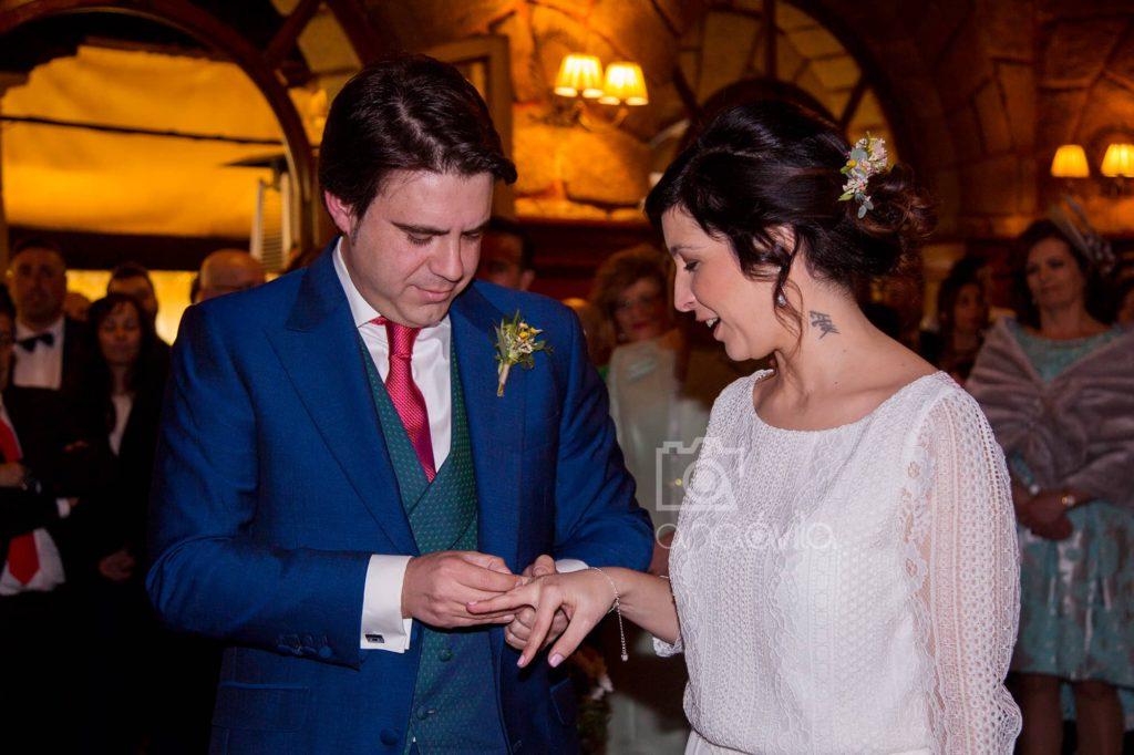 Sesión de fotos de boda en Madrid