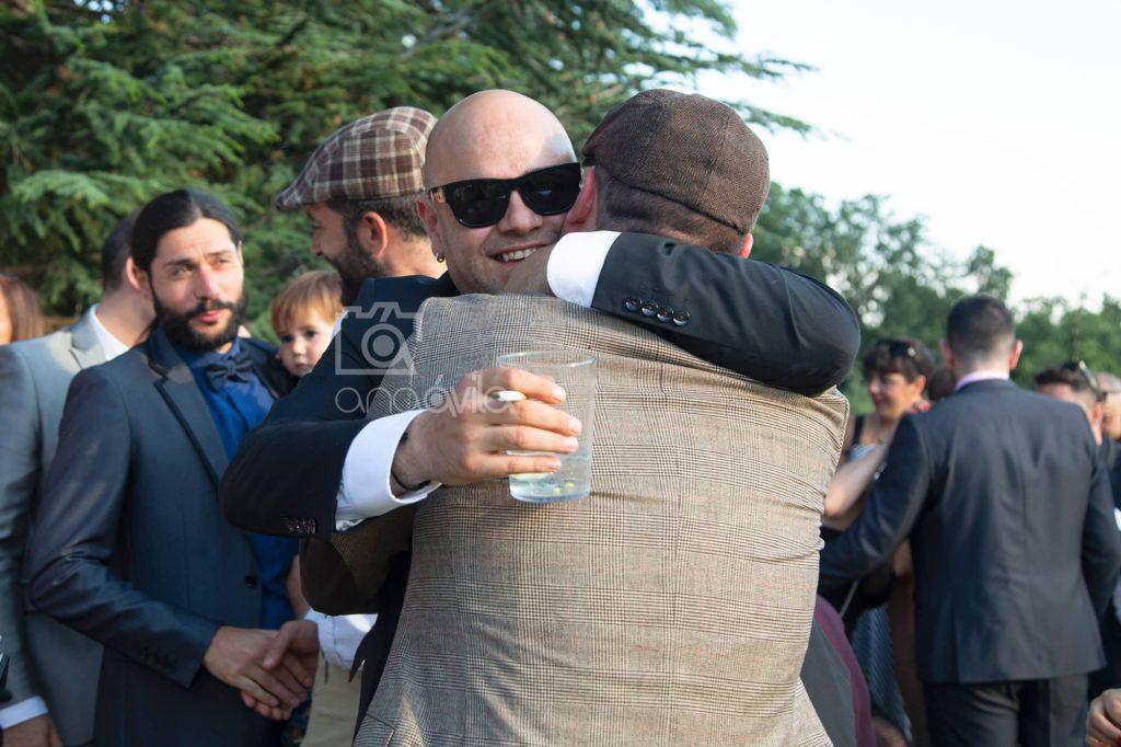 Fotografia de bodas civiles al aire libre