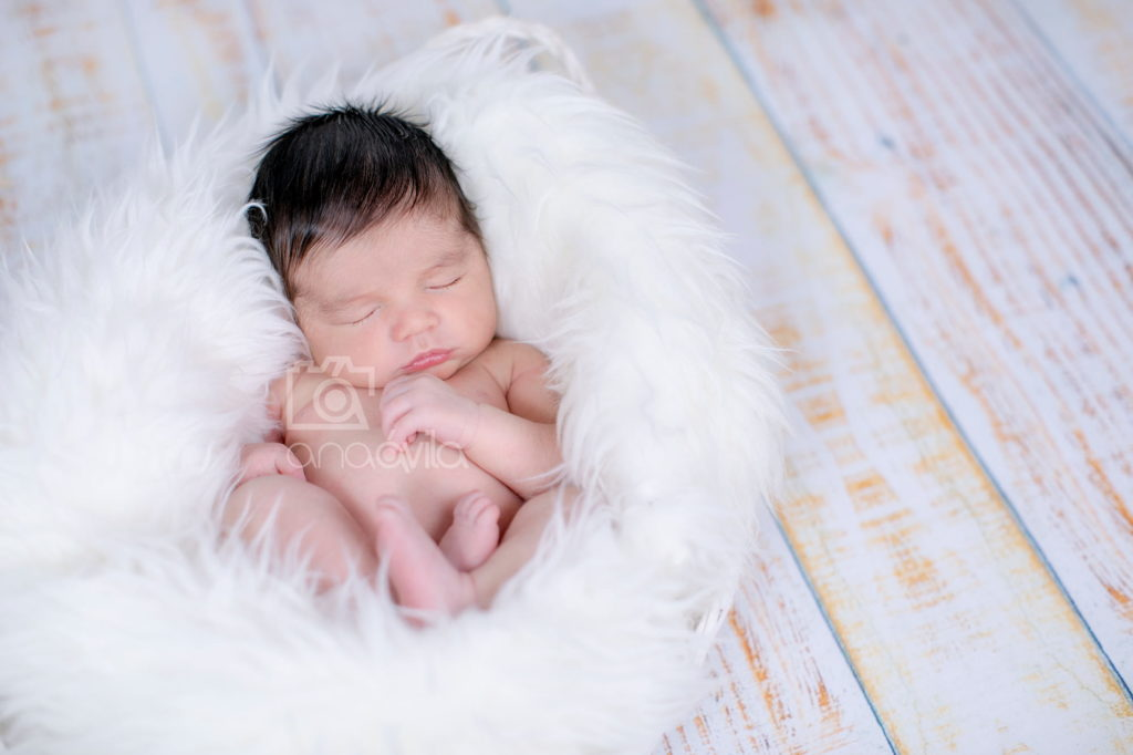 sesión de fotos de bebés newborn en madrid