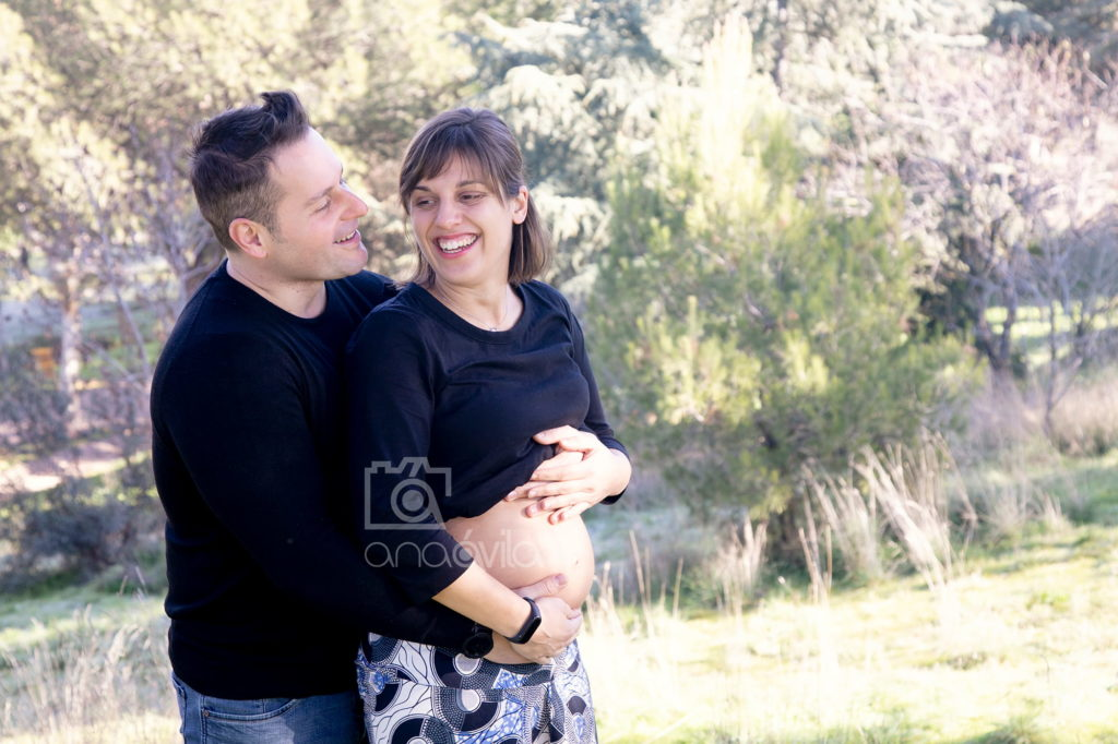 fotos embarazada madrid