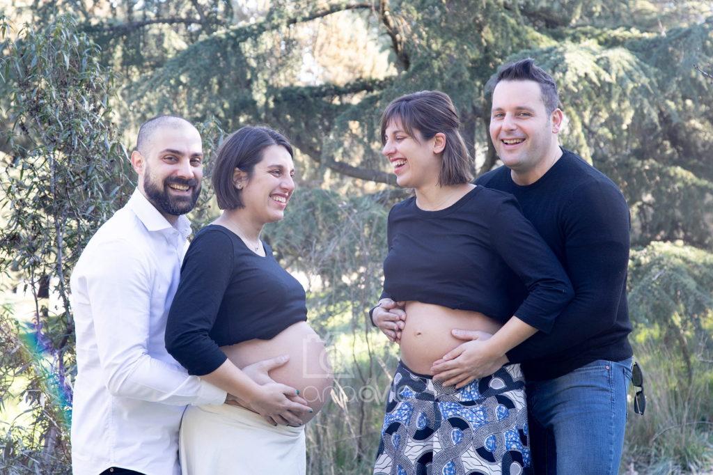 fotos embarazo hermanas