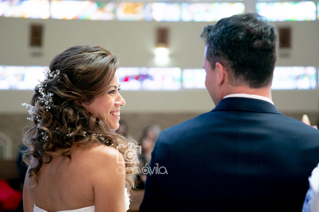 reportaje de fotos de boda en iglesia