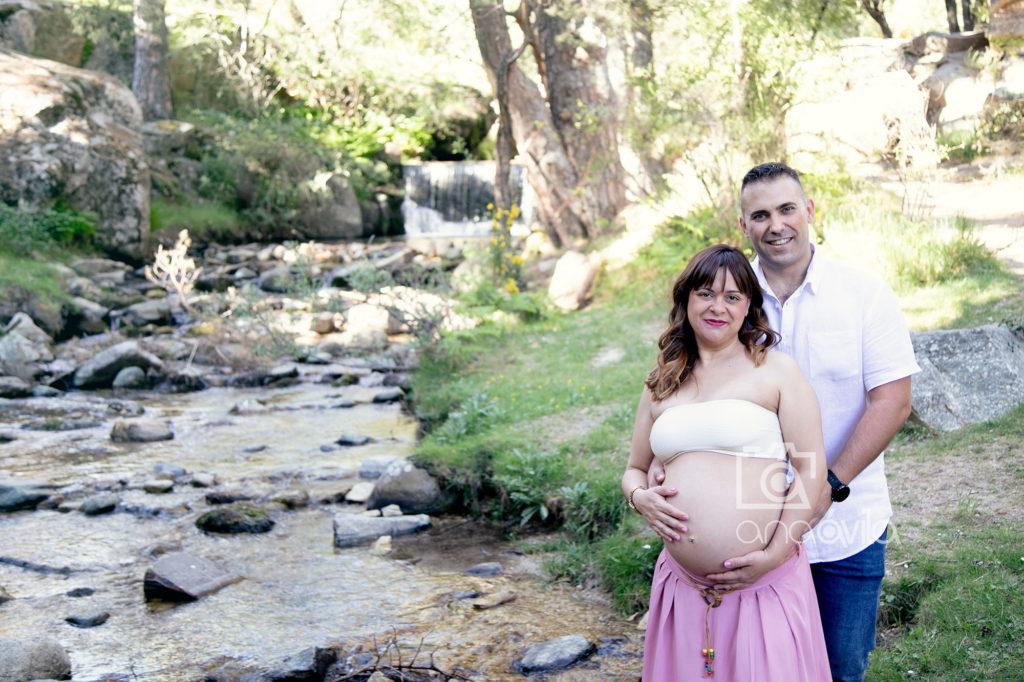 book de fotos para embarazadas en exterior
