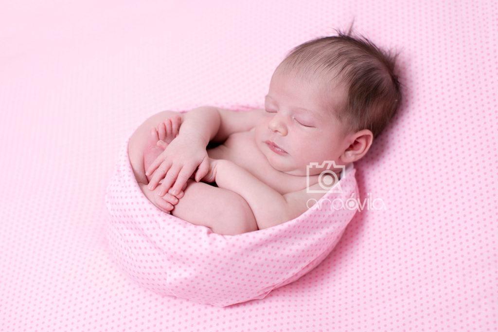 fotografia recien nacidos en estudio