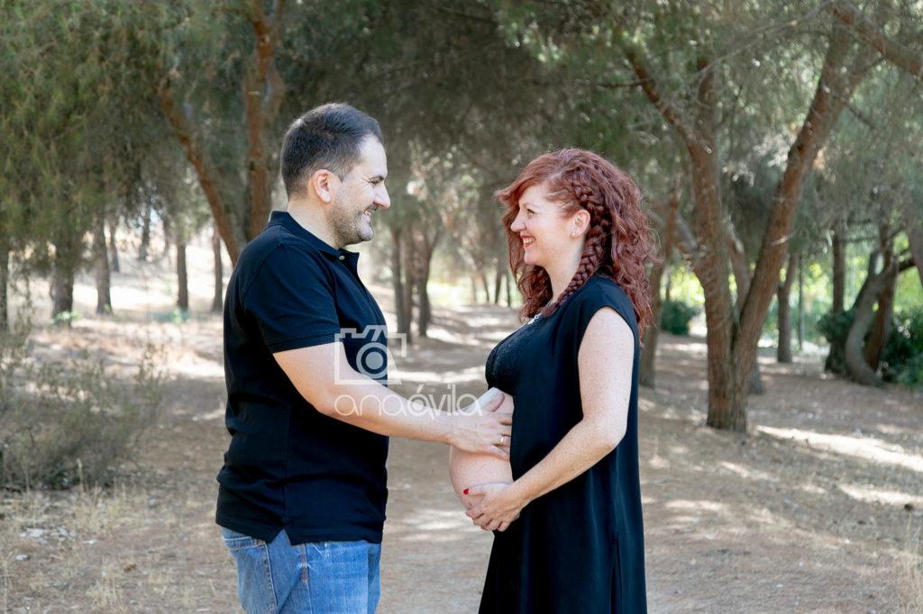 fotos de embarazo en exterior