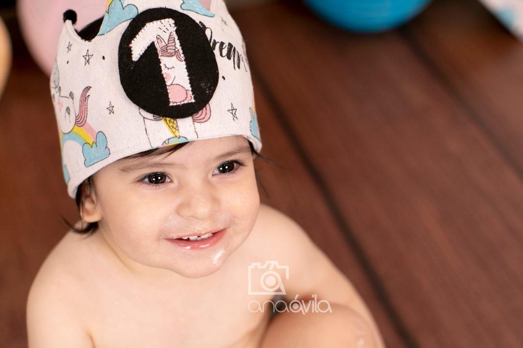 fotos de primer cumpleaños en madrid