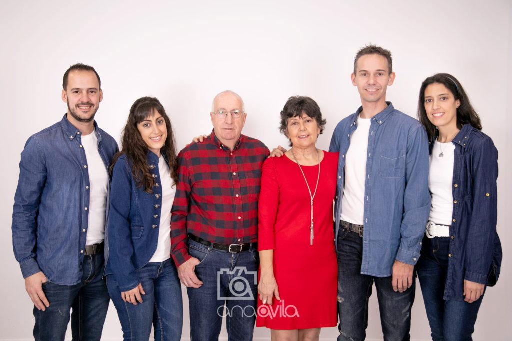 sesión de fotos en familia en móstoles