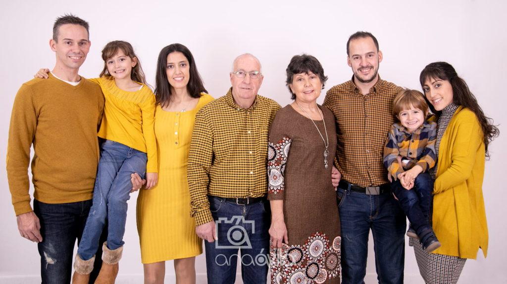 sesión de fotos en familia en fuenlabrada