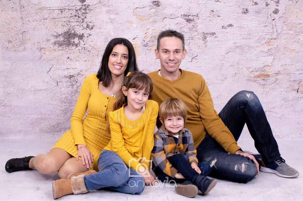 sesión fotográfica de familia en madrid