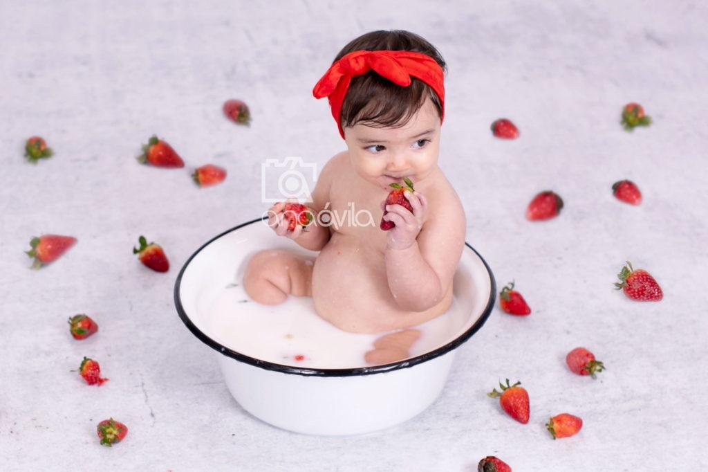 fotografías de estudio de bebés en Móstoles