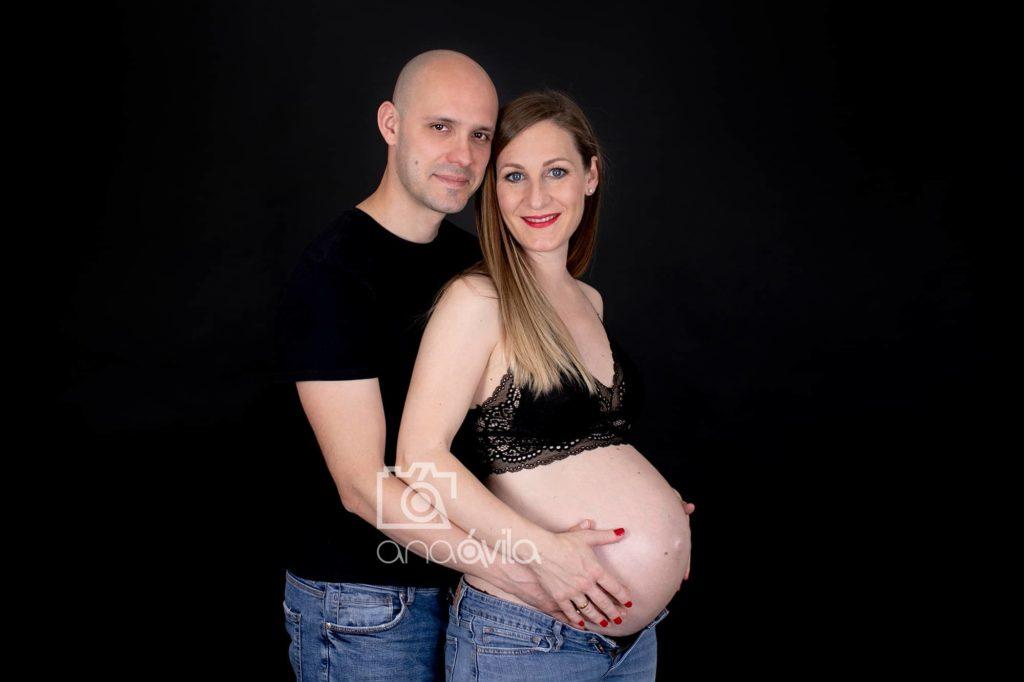 fotos embarazo en estudio