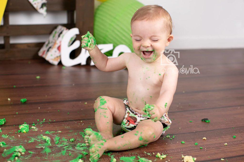 reportaje fotos primer cumpleaños