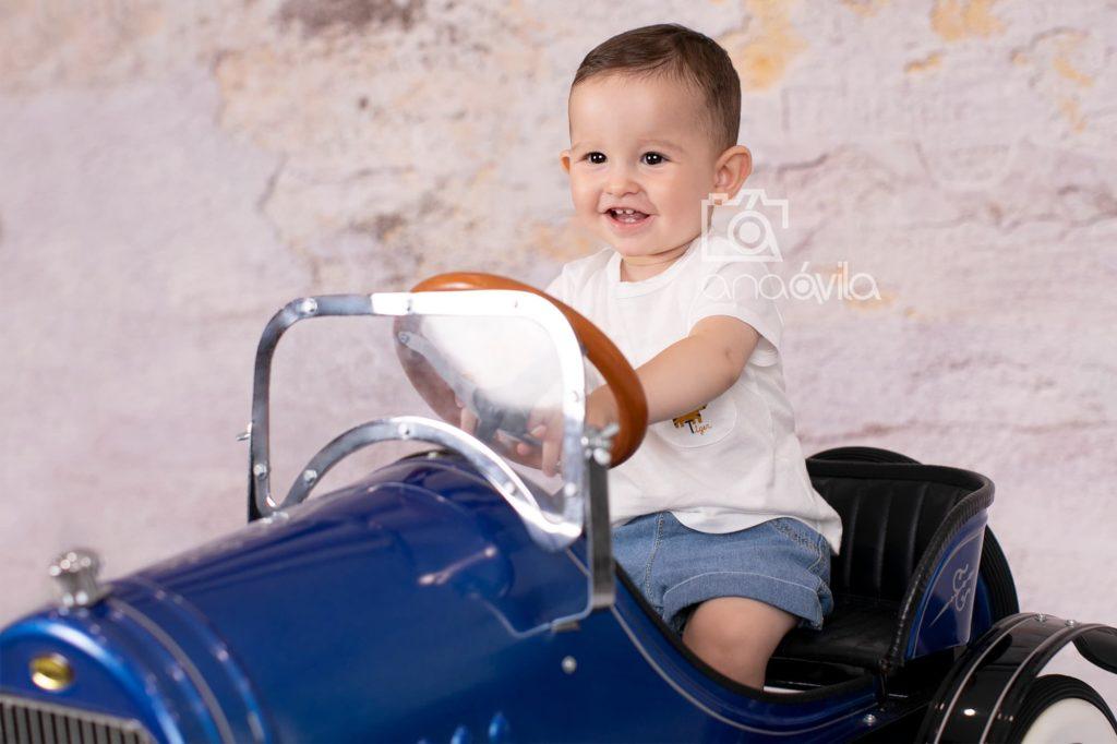 sesión de fotos de bebé