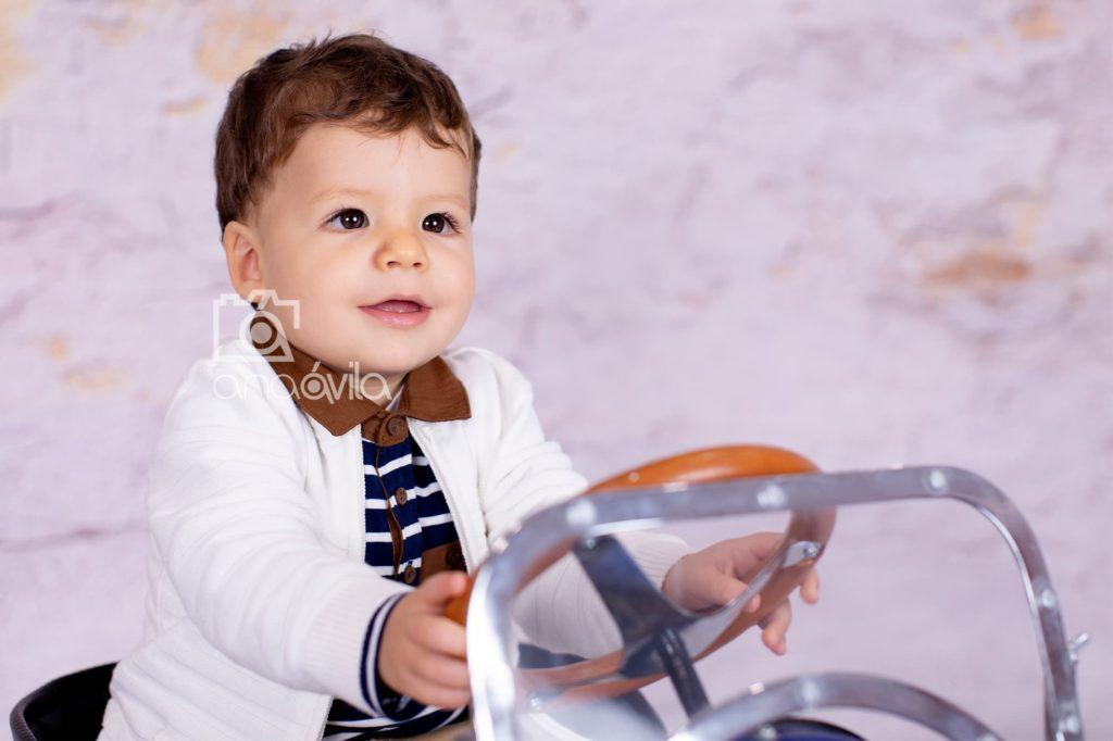 sesión fotográfica de bebé