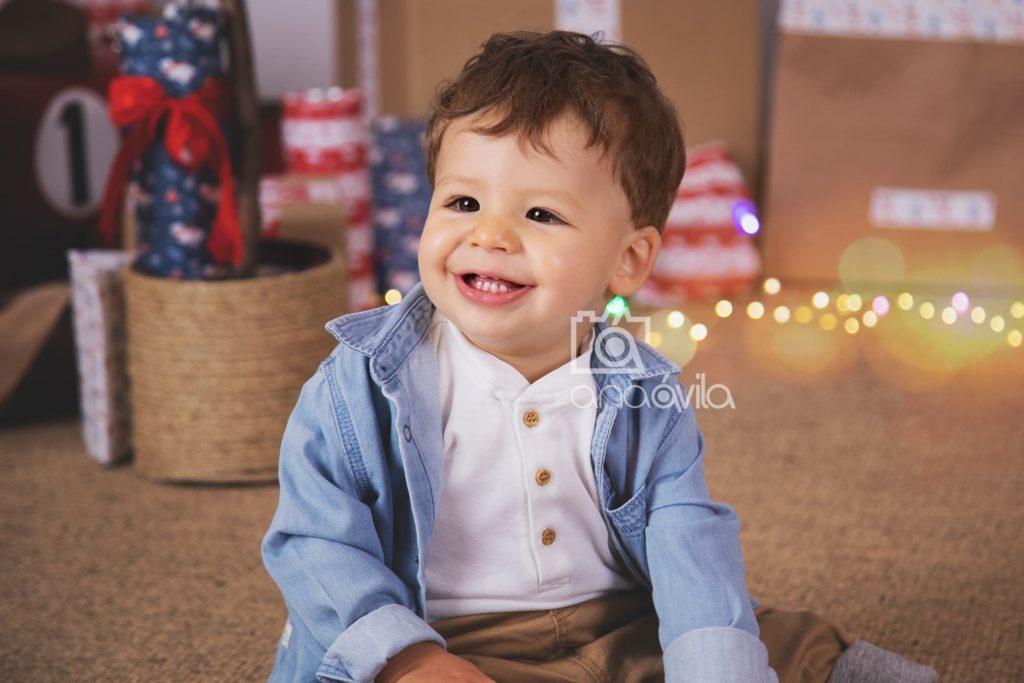 sesión fotográfica de bebé en motoles