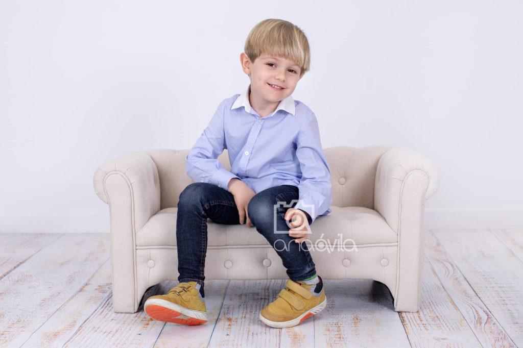 reportaje fotográfico infantil en madrid